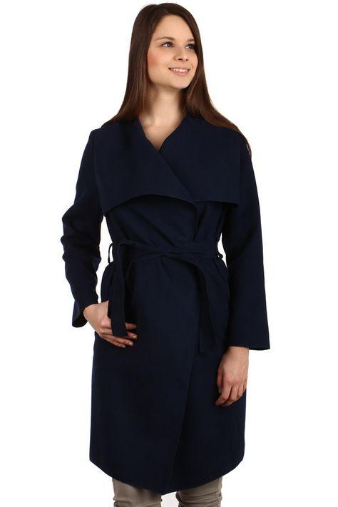 Dámský kardigan s výrazným límcem - koupit online na Glara.cz  dámskékabáty   damskekabaty  glara  fashion  kabáty  kabaty 43dbd2dc99