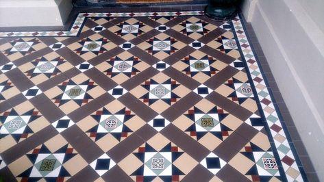 our work - victorian mosaic tiling di 2020 | dekorasi