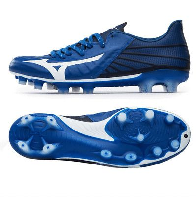 Mizuno Rebula 3 Japan Ga196001 Blue Soccer Cleats Shoes Football Boots Spikes Ebay Rugby Boots Football Boots Soccer Cleats