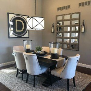Banks Extending Dining Table Gray Wash Tufted Dining Room Chair Dining Furniture Extendable Dining Table