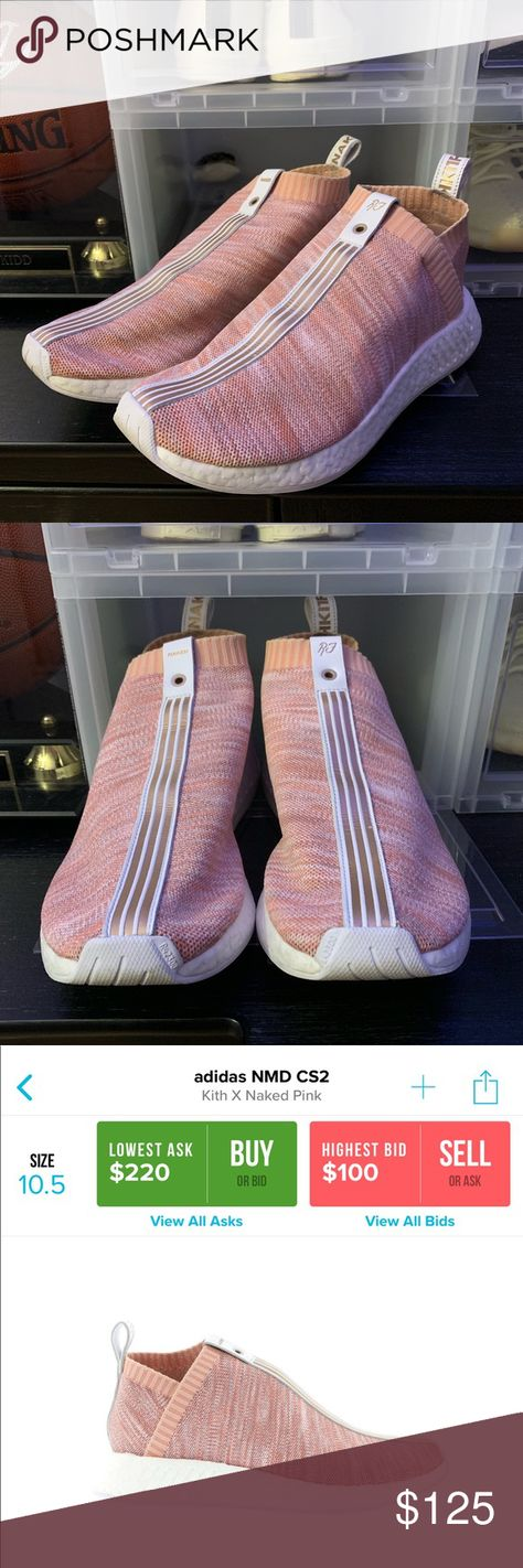 newest 46cb7 4aca3 Adidas NMD CS2 Kith X Naked Pink Worn a handful of times. Purchased from  Kith