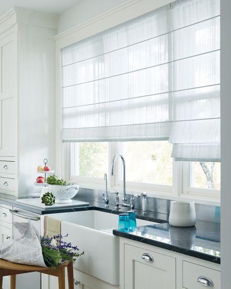 55 rideaux de cuisine et stores pour « habiller » les fenêtres de - store pour fenetre interieur