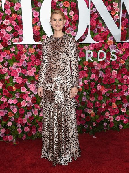 Claire Danes attends the 72nd Annual Tony Awards at Radio City Music Hall.