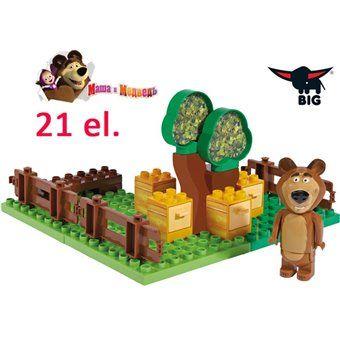 Big Klocki Bloxx Masza I Niedzwiedz Ogrod Miszy 21 Elem Simba Toys Playset Health Products Design