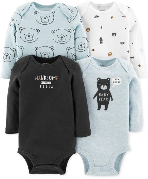 NWT 4 Short Sleeve Bodysuits by Babies R Us Baby Infant preemie up to 5lbs