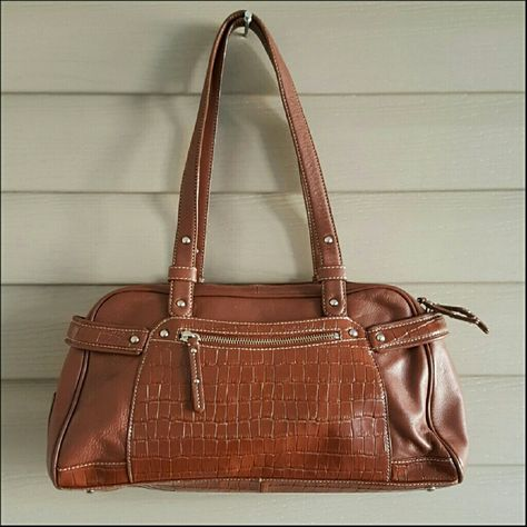 NWOT Maxx NY brown genuine leather purse | Products | Pinterest ...