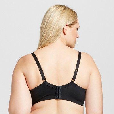 ce2da631461a0 Women s Plus Size Unlined Bra - Ava   Viv - Black 38DD
