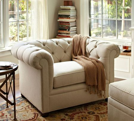 Chesterfield Upholstered Armchair In 2020 Upholstered Arm Chair