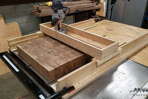 How to Make a Router Sled to Flatten Slabs: 8 Steps (with Pictures)