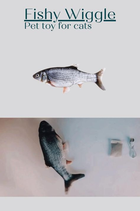 The Fishy Wiggle! A great toy for your cats.