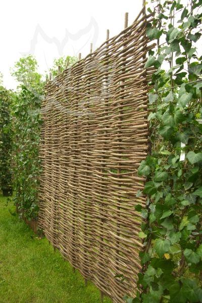 Haselnusselement 180x180cm Mit Bildern Larmschutz Garten Sichtschutz Garten Pergola Abdeckung