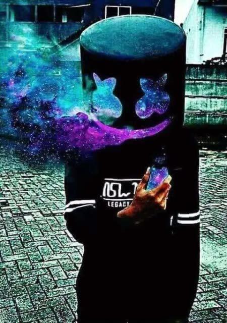 Max Ferreira347 Marshmello Wallpapers Papel De Parede Neon Papel De Parede Fofo