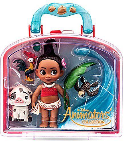 NEW Disney Store Animators/' Moana 5 Inch Doll Figure Mini Playset