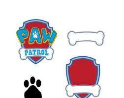 Image Result For Paw Patrol Blank Bone Paw Patrol Party Paw Patrol Paw