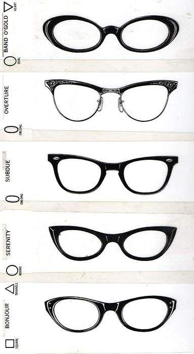 Different Eyeglass Frame Shapes : Glasses Are Bold on Pinterest Glasses, Big Messy Buns ...