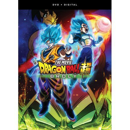 Dragon Ball Super Broly The Movie Dvd Digital Copy Walmart Com Dragon Ball Super Manga Dragon Ball Super Broly Movie