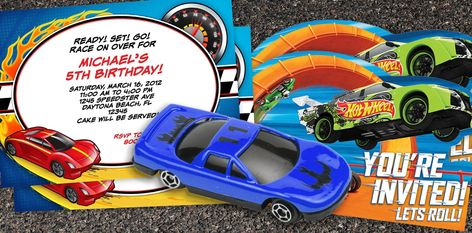 Hotwheels Party Invitation Free Printable Google Search Hot