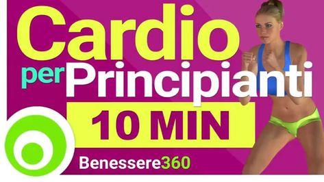 Esercizi Cardio per Principianti - Aerobica per Dimagrire a Casa   10 mi...