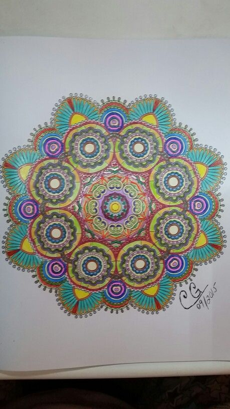 Finally Done Book Colorama Coloring Book Colored With