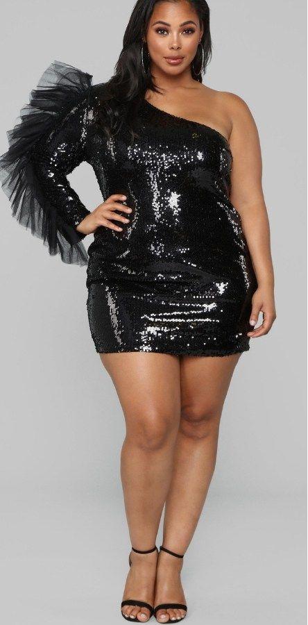 41++ Plus size black sequin dress ideas ideas