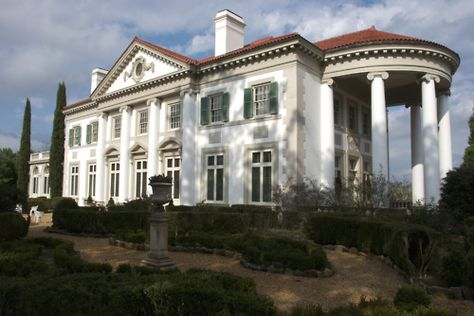 The historic Hills & Dales Estate, in LaGrange, GA, was originally designed by the Atlanta architecture firm of Hertz, Reid & Adler for the textile magnate Fuller E. Callaway and his family.