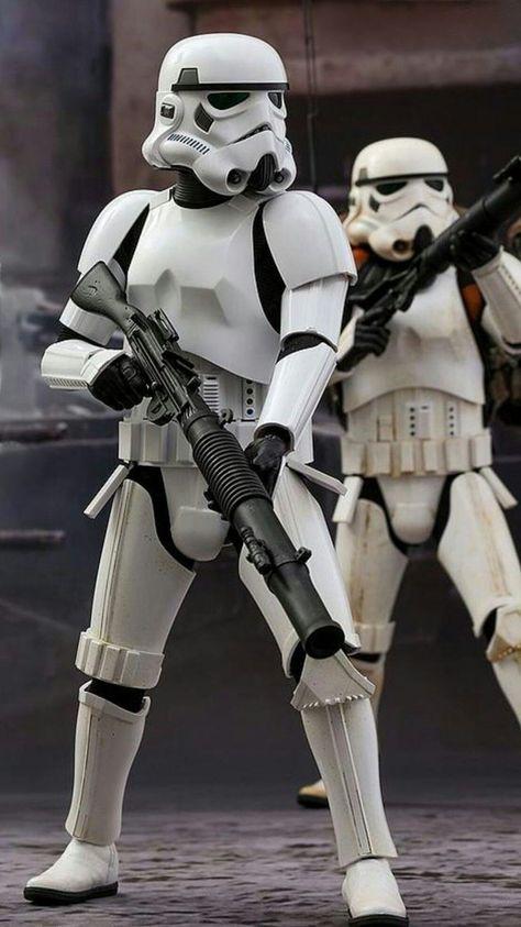 Imperial Stormtrooper soldier
