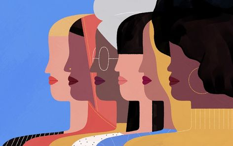 Illustrated Ladies by Audrey Lee