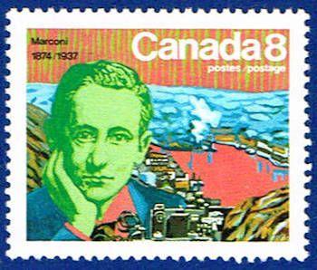 Canada 654 Stamp Marconi Signal Hill Stamp Na C 654 1 Stamp Canada Signal Hill