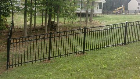 Pin By Alltypefence Company On Aluminum Fence With Images