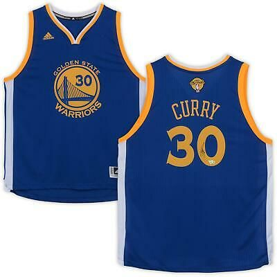 Stephen Curry Golden State Warriors Autographed Adidas NBA Finals ...