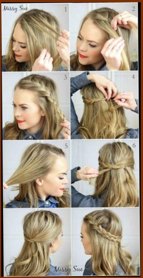 15 Peinados Sencillos Para Diario Peinados Peinadosfaciles Peinadospara Peinadosideas Peinados Sencillos Peinados Media Melena Peinados Poco Cabello