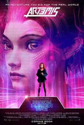 New Character Posters Revealed For Steven Spielberg S Ready Player One Ready Player One Characters Ready Player One Art3mis Ready Player One Movie