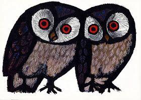 Celestino Piatti: The Happy Owls illustration