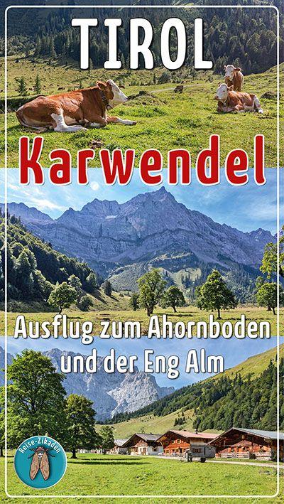 Tirol Karwendel Ausflug Zum Ahornboden Und Der Eng Alm Comic