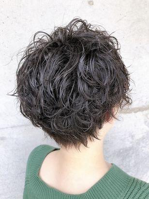 2020年春 ショート カーリーの髪型 ヘアアレンジ 人気順
