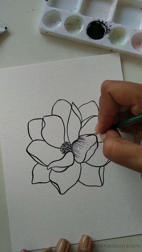 Quick Floral Illustration Tutorial