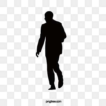 Black And White Silhouette Figures Contour Background People Black Png And Vector With Transparent Background For Free Download Silhouette People Silhouette Black And White Background