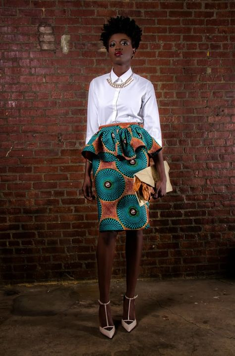 """There are so many ways to rock African dresses, fabrics & prints (also called """"dutch wax"""", """"ankara"""", &"""