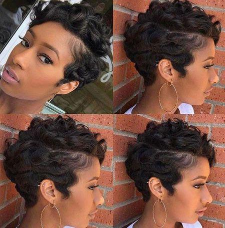 78 Short Pixie Hairstyles For Black Women Best Short Pixie Hairstyles For Black Women 2018 2019 Short Hair Styles Pixie Short Hair Styles Hair Styles