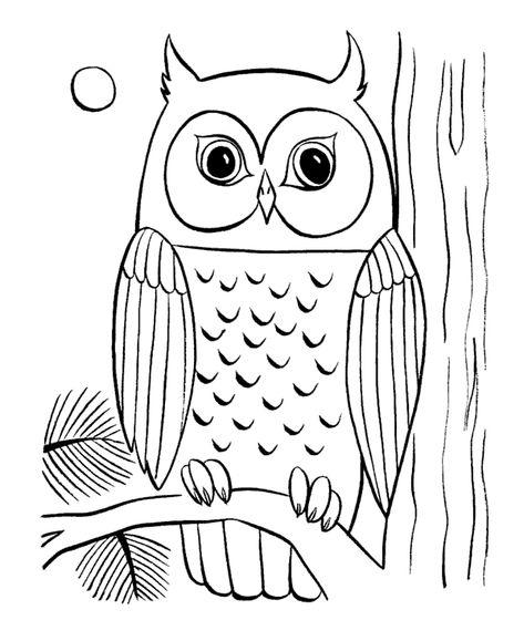 Baykuş Boyama Sayfası Taş çalişmasi Pinterest Buho Dibujo