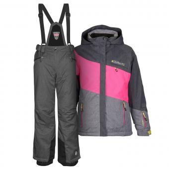 KILLTEC Damen Ski Snowboard Jacke wasserdicht Kapuze atmungsaktiv Größe 36 40