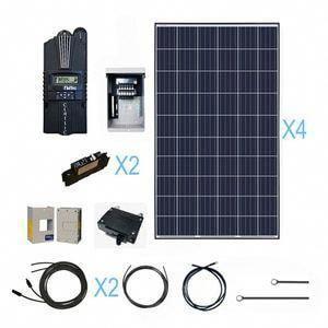 Solar Panel Kits For Home Cabin Renogy Solar Solarpanels Solarenergy Solarpower Solargenerator Solarpane In 2020 Solar Panels Solar Energy Panels Solar System Kit