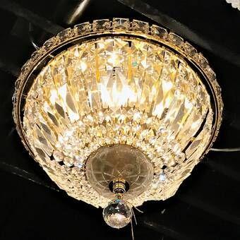 Willa Arlo Interiors Baptiste 4 Light Flush Mount Reviews Wayfair Light Fixtures Flush Mount House Of Hampton Light
