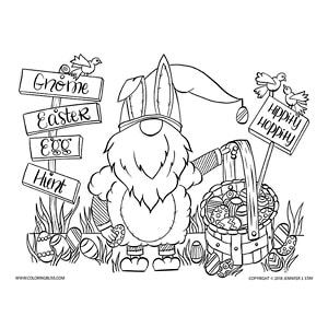 14++ Gnome coloring pages for adults info