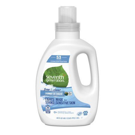 Seventh Generation Free Clear Concentrated Liquid Laundry