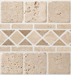 Mosaique Pierre Naturelle Travertin Beige 30x30 Cm Carreau 10x10 Cm Brico Depot Travertin Pierre Naturelle Pierre Travertin