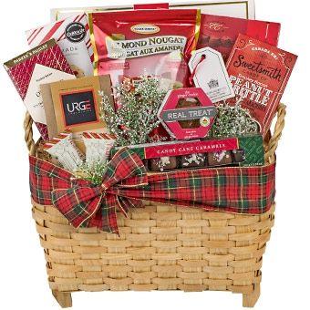 Holiday Seasonal Sweets Gift Basket Vancouver Christmas Gifts