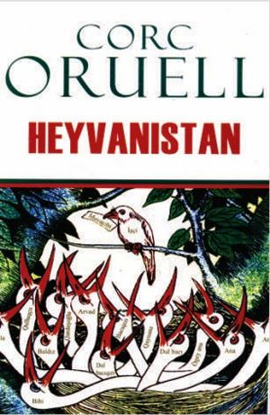 Heyvanistan Corc Oruell Pdf Yuklə Books Comic Book Cover Book Cover