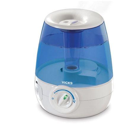 Vicks Mini Filter Free Ultrasonic Cool Mist Humidifier