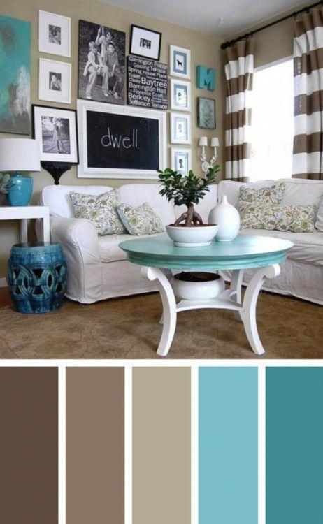 Turquoise Brown Living Room Color Scheme Ideas Shw Home Decor Turquoisebrown Living Room Turquoise Brown Living Room Color Schemes Living Room Color Schemes